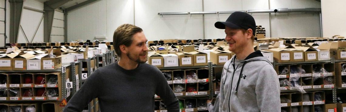 Niklas Nordheim och Filip Klasson på Hatstore.se