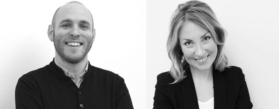 Hampus Waldermarsson och Rebecca Brodd